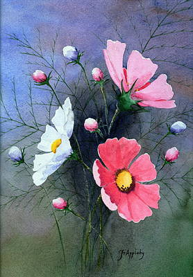 Painting - Cosmos  by Jo Appleby