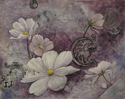 Painting - Cosmos by Sandy Clift