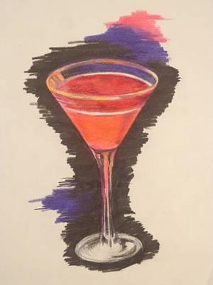 Cosmopolitan Drawing - Cosmotini by Chelsea Simunek