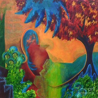Art Print featuring the painting Costa Mango by Elizabeth Fontaine-Barr