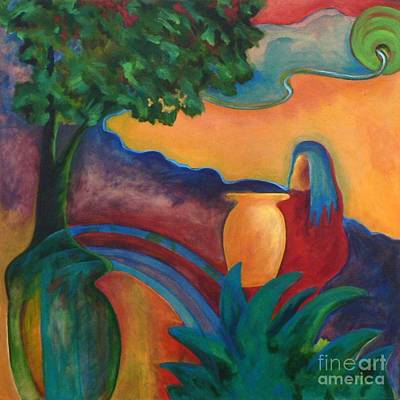 Art Print featuring the painting Costa Mango II by Elizabeth Fontaine-Barr