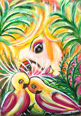Art Print featuring the painting Costa Rica by Anya Heller