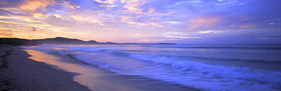 Costa Rica, Beach At Sunrise Art Print by Panoramic Images