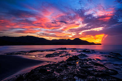 Photograph - Costa Rica Sunset by Nick  Shirghio