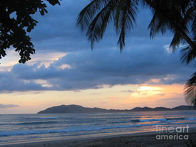 Art Print featuring the photograph Costa Rica Sunset by Shelia Kempf