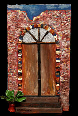 Costa Rican Doorway Art Print