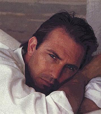 Kevin Costner Photograph - Costner by Douglas Settle