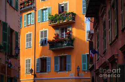 Photograph - Cote D'azur Alley by Inge Johnsson