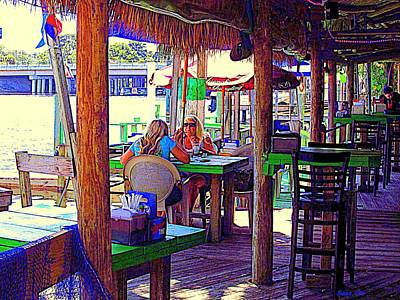 Photograph - Cotee River Tiki Bar And Grill I by Buzz Coe