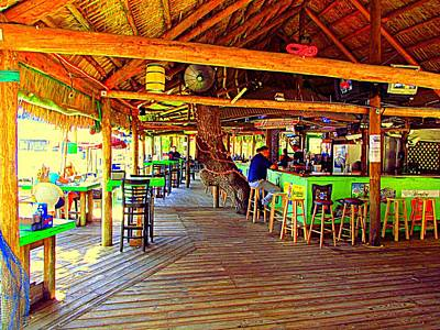 Photograph - Cotee River Tiki Bar And Grill Iv by Buzz Coe