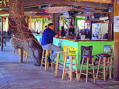 Photograph - Cotee River Tiki Bar And Grill Vii by Buzz Coe