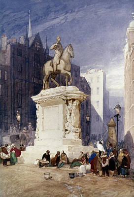 Charing Cross Painting - Cotman King Charles by Granger