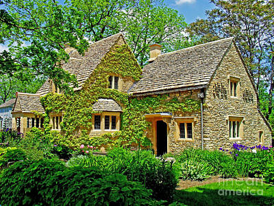 Photograph - Cotswold Cottage by Rodney Campbell