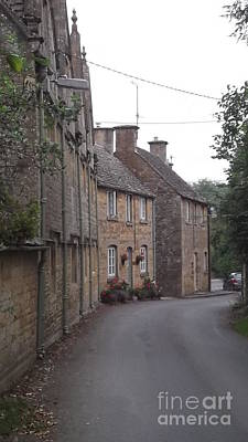Cotswold Cottages Print by John Williams