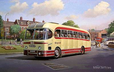 Stratford Painting - Cotswold Tour 1957 by Mike Jeffries