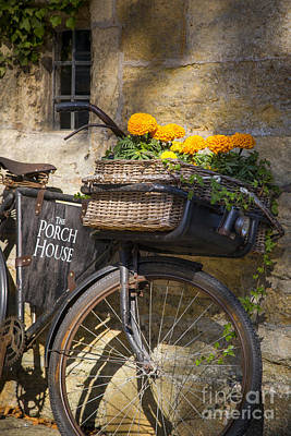 Photograph - Cotswolds Bicycle by Brian Jannsen