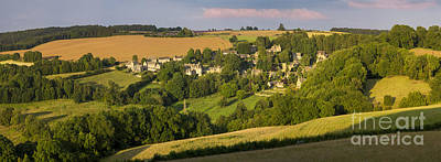 Photograph - Cotswolds Pano by Brian Jannsen