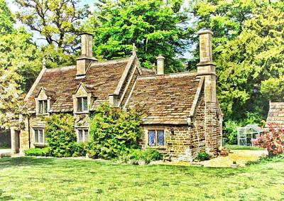 Photograph - cottage at Bowood-01 by Paul Gulliver