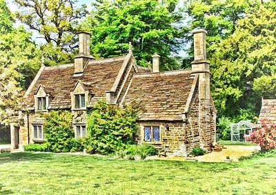 cottage at Bowood-01 Art Print