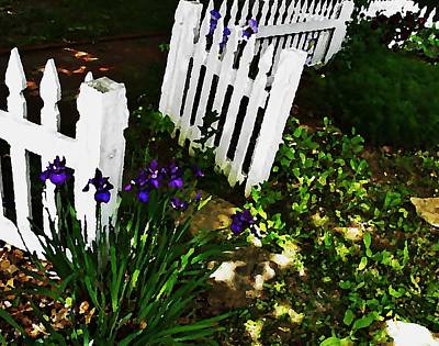 Photograph - Cottage Entry  by Chris Berry
