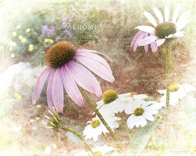 Artography Photograph - Cottage Garden Flowers by Melissa Bittinger