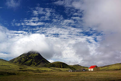 Photograph - Cottage In Iceland by Julie VanDore