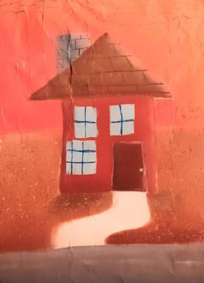 Cottage Art Print by Joshua Maddison