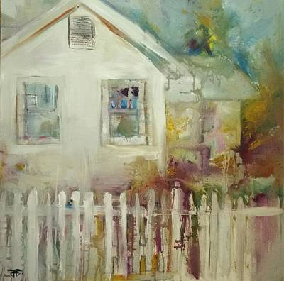 Painting - Cottage Memories by John Jr Gholson