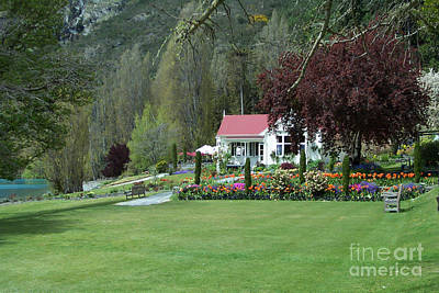 Photograph - Cottage On Fjord by John Potts
