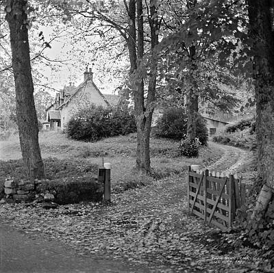 Photograph - Cottage On Loch Ness - Scotland 1972 - Travel Photography By David Perry Lawrence by David Perry Lawrence