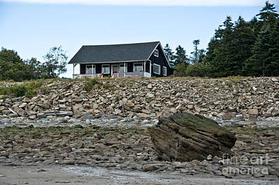 Photograph - Cottage On The Beach by Cheryl Baxter