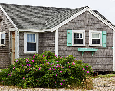 Photograph - Cottage On The Cape by Michelle Wiarda