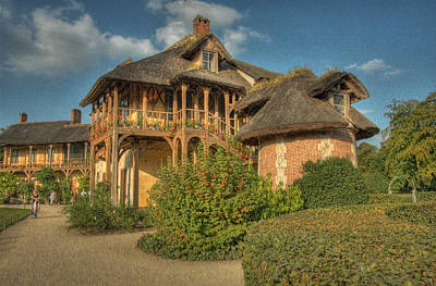 Photograph - Cottage Versailles by Michael Kirk