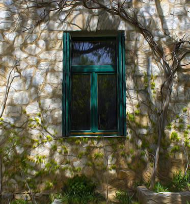 Photograph - Cottage Window by Radoslav Nedelchev