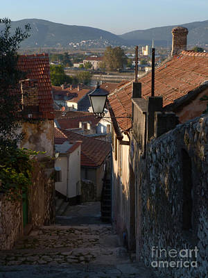 Photograph - Cottages - Metkovic - Croatia by Phil Banks