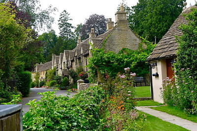 Photograph - Cottages Of Castle Combe by Denise Mazzocco