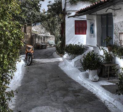 Photograph - Cottages by Radoslav Nedelchev