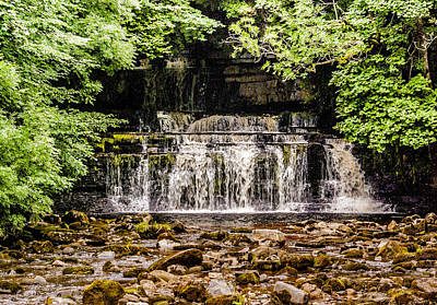 Cotter Photograph - Cotter Force Yorks Dales by Trevor Kersley
