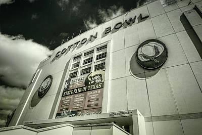 Cotton Bowl Art Print