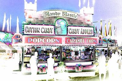 Photograph - Cotton Candy Castle by Marianne Dow