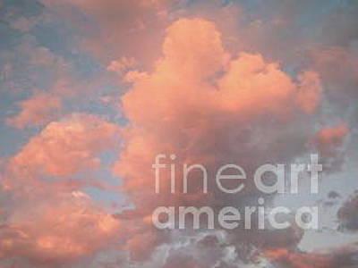 Malibu Photograph - Cotton Candy Clouds by Maureen J Haldeman