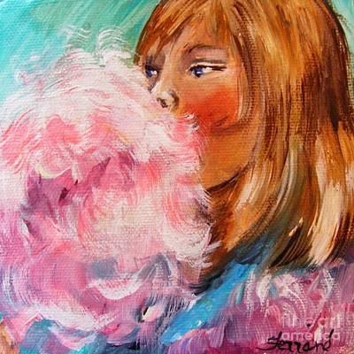 Modern Man Music - Cotton Candy by Karen  Ferrand Carroll