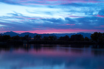 James Brown Photograph - Cotton Candy Sky  by James  Brown