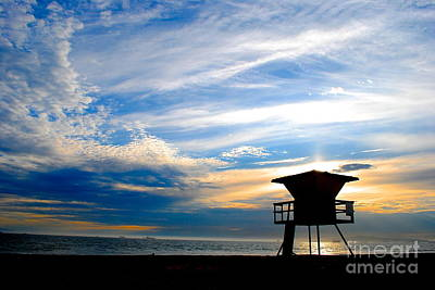 Art Print featuring the photograph Cotton Candy Sky by Margie Amberge