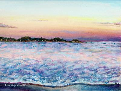 Candy Painting - Cotton Candy Waters by Shana Rowe Jackson