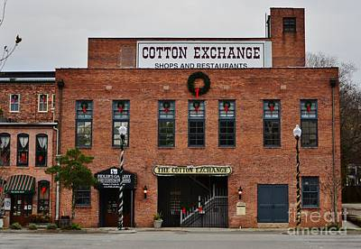 Photograph - Cotton Exchange by Bob Sample