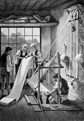 Cotton Loom Art Print by Bildagentur-online/tschanz
