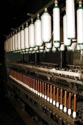 Photograph - Cotton Loom by Bob Pardue