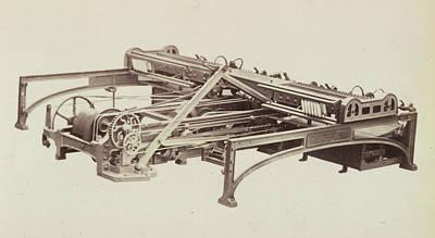 Machinery Photograph - Cotton Machinery by British Library