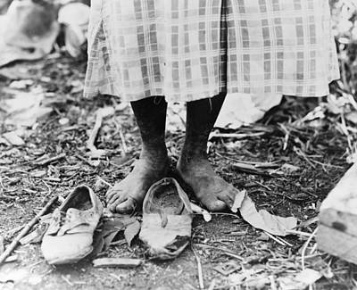 Photograph - Cotton Picker, 1937 by Granger